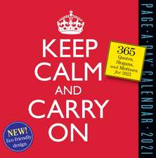 Keep Calm and Carry on Page-A-Day Calendar 2021