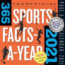 Official 365 Sports Facts-A-Year Page-A-Day Calendar 2021