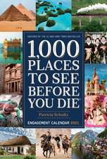 2021 1000 Places to See Before You Die Engagement Calendar