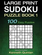 Large Print Sudoku Puzzle Book 1