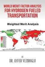 World Merit Factor Analysis for Hydrogen Fueled Transportation