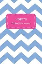 Hope's Pocket Posh Journal, Chevron
