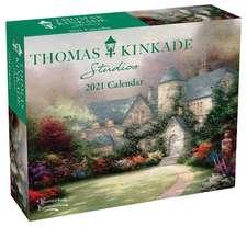 Thomas Kinkade Studios 2021 Day-to-Day Calendar