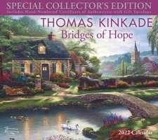 Thomas Kinkade Special Collector's Edition 2022 Deluxe Wall Calendar with Print