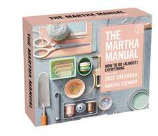 The Martha Manual 2022 Day-to-Day Calendar