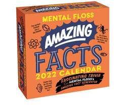 Amazing Facts from Mental Floss 2022 Day-to-Day Calendar