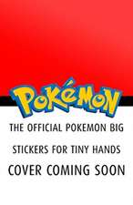 Official Pokemon Big Stickers for Tiny Hands