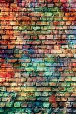 Multi Color Brick Wall Workbook of Affirmations Multi Color Brick Wall Workbook of Affirmations