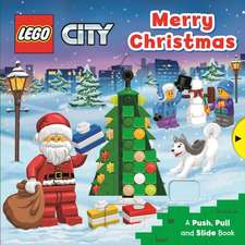 LEGO Merry Christmas: A Push, Pull and Slide Book