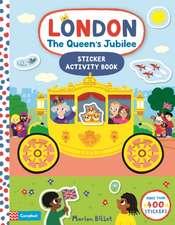 London The Queen's Jubilee Sticker Book