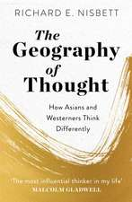 The Geography of Thought
