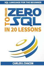 From Zero to SQL in 20 Lessons