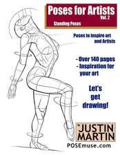 Poses for Artists Volume 2 - Standing Poses