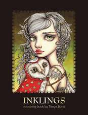 Inklings Colouring Book by Tanya Bond: Volume 1