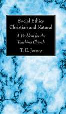 Social Ethics Christian and Natural