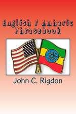 English / Amharic Phrasebook