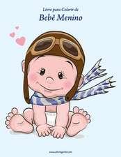 Livro Para Colorir de Bebe Menino 1