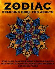 Zodiac Coloring Book for Adults