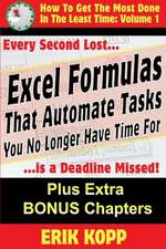 Excel Formulas That Automate Tasks You No Longer Have Time for