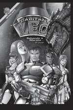 Comic Capitan Leo-Version Blanco y Negro