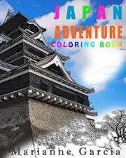 Japan Adventure Coloring Book