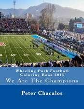Wheeling Park Football Coloring Book 2015