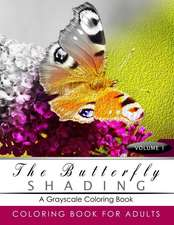 Butterfly Shading Coloring Book Volume 1