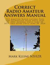 Correct Radio Amateur Answers Manual