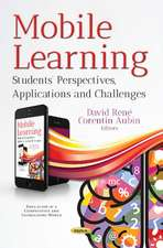 Mobile Learning: Students' Perspectives, Applications & Challenges