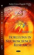 Horizons in Neuroscience Research. Volume 35