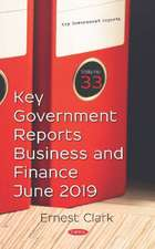 Key Government Reports. Volume 33