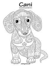 Cani Libro Da Colorare Per Adulti 1 & 2