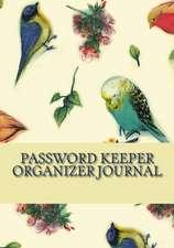 Password Keeper Organizer Journal