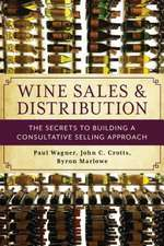 WINE SALES AMP DISTRIBUTIONTHE