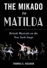 MIKADO TO MATILDA BRITISH MUSCB