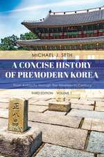 CONCISE HIST OF PREMODERN KOREPB