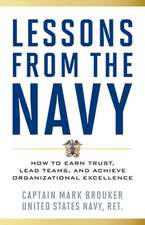 LESSONS FROM THE NAVYHOW TO ECB