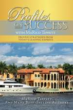 Profiles on Success with Marico Tippett