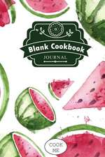 Blank Cookbook Journal