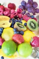Colorful Assortment of Fresh Fruit Healthy Eating Journal