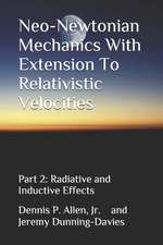 Neo-Newtonian Mechanics with Extension to Relativistic Velocities