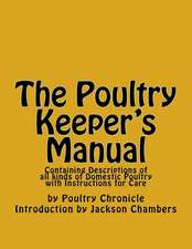 The Poultry Keeper's Manual