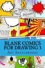 Blank Comics for Drawing 3