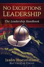 No Exceptions Leadership