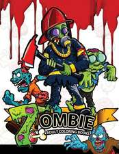 Zombie Adults Coloring Books