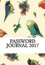 Password Journal 2017