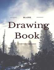 """Blank Drawing Book, Large Sketchbook,150 Pages, 8.5"""" X 11""""cover Is Beautiful, White Paper, Sketch, Draw and Paint"""