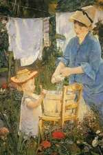 """""""The Laundry"""" by Edouard Manet - 1875"""