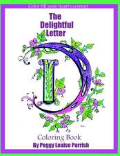 The Delightful Letter D Coloring Book