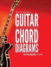 Maurice Johnson's Guitar Chord Diagrams